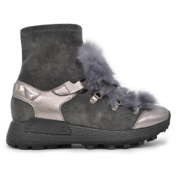 Сірі  демісезонні кросівки