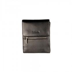 Кожаная маленькая мужская сумка