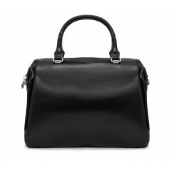 Кожаная средняя женская сумка
