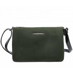 Зеленая  маленькая женская сумка