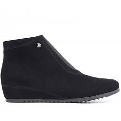 Замшевые демисезонные ботинки