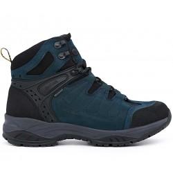 Синие  демисезонные ботинки