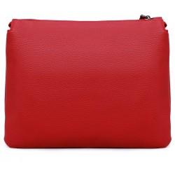 Красная  маленькая женская сумка