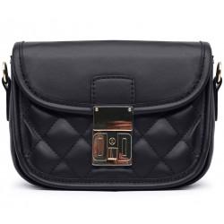 Кожаная маленькая женская сумка