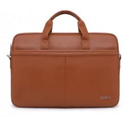 Рыжие кожаные портфель