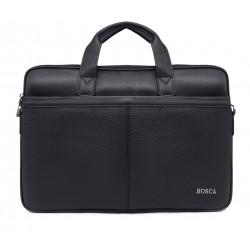 Черные кожаные портфель