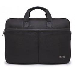 Коричневые кожаные портфель
