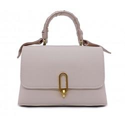 Шкіряна «еко» маленька жіноча сумка