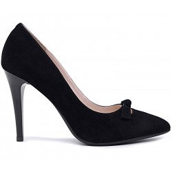 Замшевые демисезонные туфли