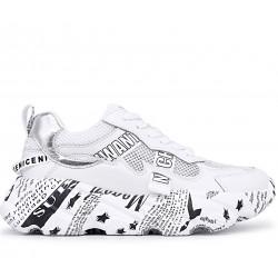 Белые  летние кроссовки