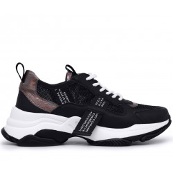 Черные  летние кроссовки